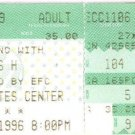 RUSH Full Unused Ticket November 6, 1996 CoreStates Center Philadelphia, PA  Concert Stub