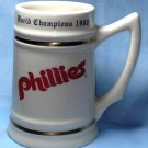Original 1980 PHILADELPHIA PHILLES World Series Championship Mug Beer Stein RARE ORIGINAL!