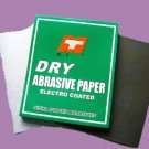 Dry sand paper