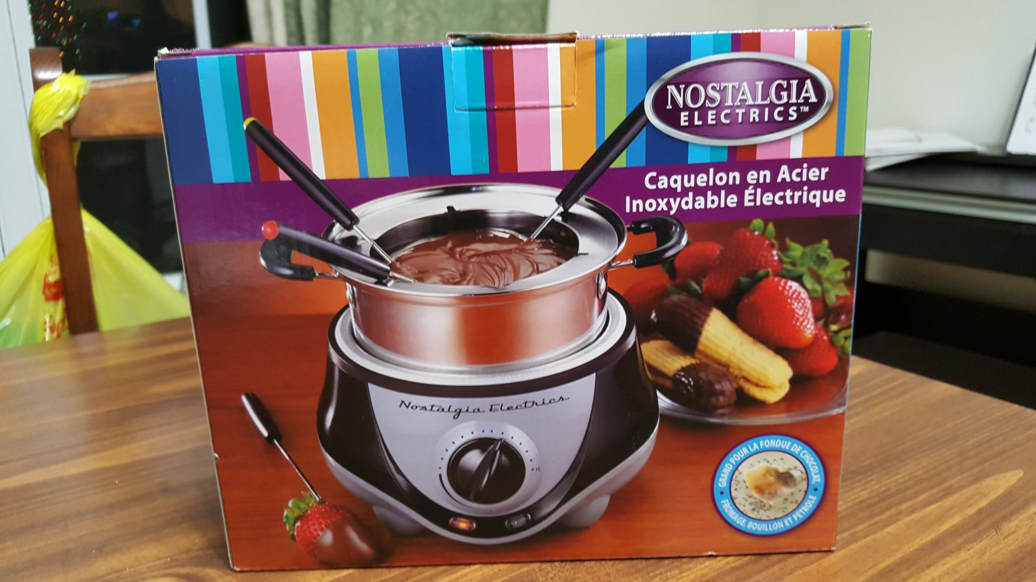 Stainless Steel Electric Fondue Pot