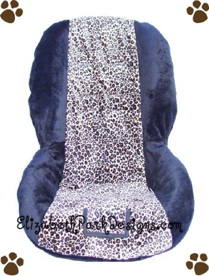 britax toddler car seat cover minky cheetah. Black Bedroom Furniture Sets. Home Design Ideas