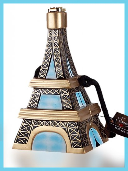 Timmy Woods Eiffel Tower Handbag as seen in Sex in the City