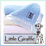 Little Giraffe - Original Chenille Baby Blanket