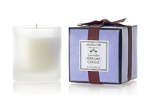 Lavender Perfume Candle by elizabeth w