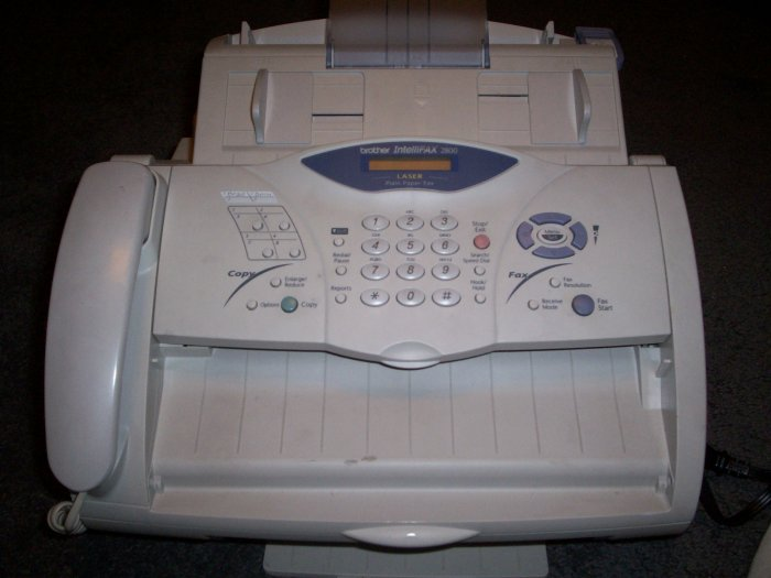 Brother Intellifax 2800 Plain Paper Laser Fax