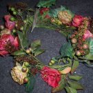 Two Rose Rings or Swags by Home Interiors