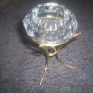 PARTYLITE DIAMOND SOLITAIRE VOTIVE CANDLE HOLDER