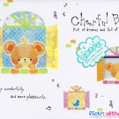 Crux Japan Cheerful Bear Memo Pad kawaii