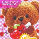 Crux Japan Friend Bear Memo Pad kawaii
