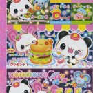 Kamio Japan Panda Animal Foods Memo Pad