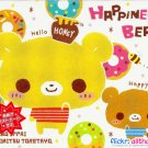 Crux Japan Happiness Bears Memo Pad #1