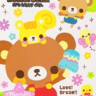 Q-Lia Japan Hello Bear Memo Pad kawaii