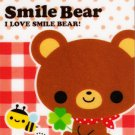 Q-lia Japan Smile Bear Mini Memo Pad