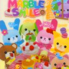 Kamio Japan Marble Smile Mini Memo Pad