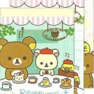 San-X Japan Rilakkuma Paris Mini Memo Pad #4