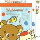 San-X Japan Rilakkuma Paris Mini Memo Pad #1