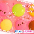 Crux Japan Macaroon Cream Mini Memo Pad