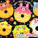 Crux Japan Doki Doki Doughnuts Mini Memo Pad