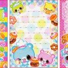 Crux Japan Animal Bakery Mini Memo Pad
