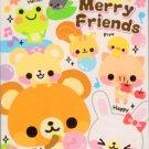 Kamio Japan Merry Friends Mini Memo Pad