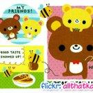 Kamio Japan Bear Bear Life Mini Memo Pad