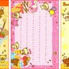 Kamio Japan Sweet Animal Town Mini Memo Pad