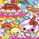 Kamio Japan Birthday Cake Memo Pad