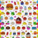 Q-lia Japan Smile Pocket Sticker Sheet