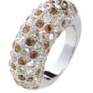 Lady Swarovski Crystals Ring Jewelry Jewellery NEW - RING Heart DIVA