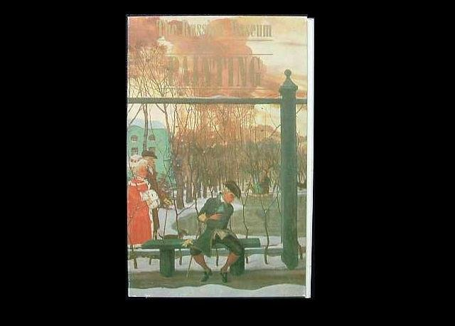 THE RUSSIAN MUSEUM PAINTINGS LENINGRAD POSTCARD FOLDER