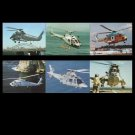 COLLECTION OF SIX ROYAL AUSTRALIAN NAVY HELICOPTER AIRCRAFT POSTCARDS