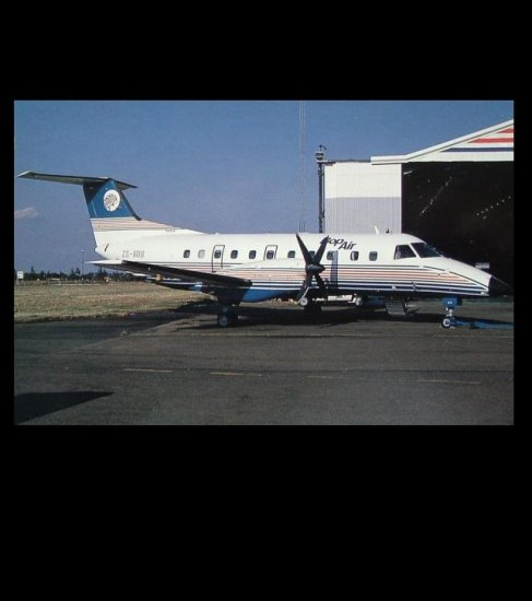 BOPAIR EMBRAER 120 RT POSTCARD