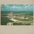 JOHN F KENNEDY SPACE CENTRE NASA POSTCARD 1969