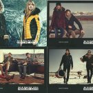 NAPAPIJRI FASHION BRAND FOUR ADVERTISING POSTCARDS