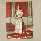 HER MAJESTY QUEEN ELIZABETH II SILVER JUBILEE 1977 POSTCARD