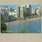 BENIDORM SPAIN SPANISH POSTCARD DATED 2010