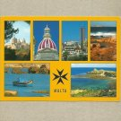 MALTA MULTIVIEW POSTCARD DATED 2003