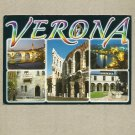 VERONA ITALY ITALIAN POSTCARD DATED 2012 with STAMP AND CLEAR POSTMARK