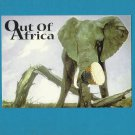 MUSIC OUT OF AFRICA ELEPHANT POSTCARD