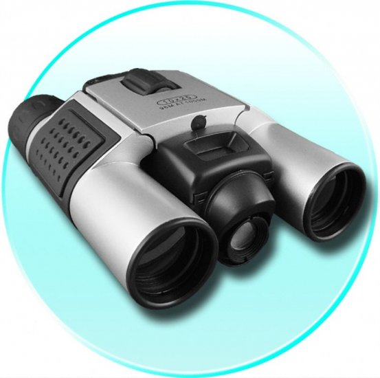 DIGITAL BINOCULARS AND CAMERA WITH 300K CMOS AND 8MB MEMORY