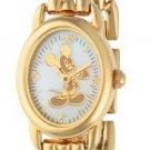 BRAND NEW Disney/Seiko Mickey Mouse Gold Oval Watch HTF