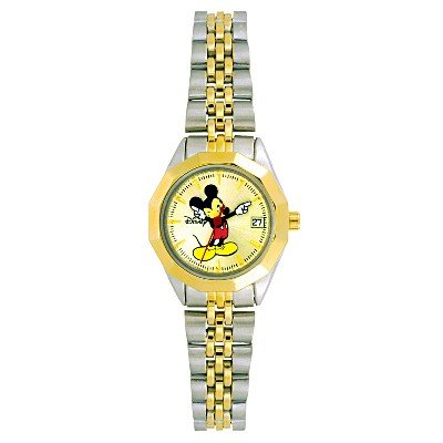 NEW Ladies Disney/Seiko Mickey Mouse w/Date Watch HTF