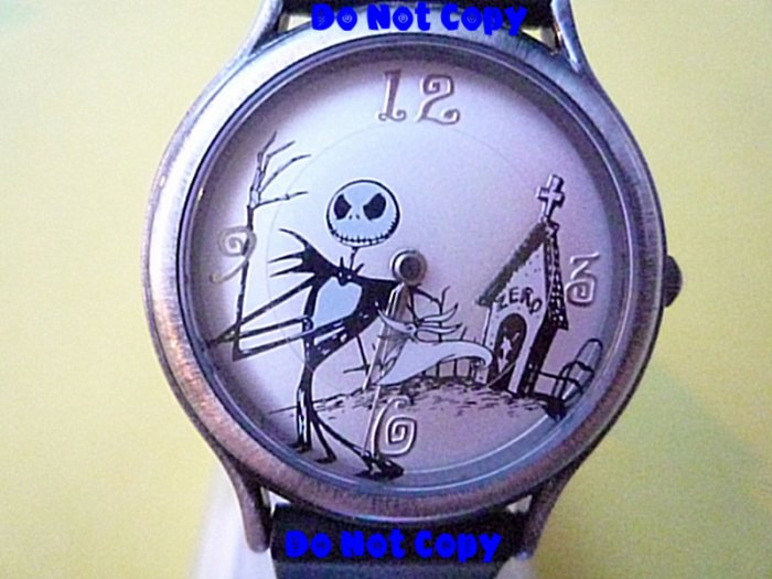 NEW Nightmare Before Christmas Jack Zero Dog Watch HTF