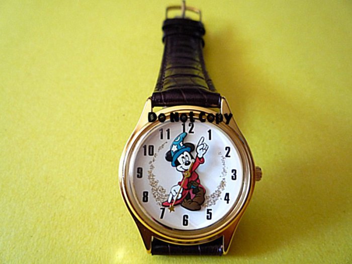 BRAND NEW Unisex Disney Mickey Mouse Sorcerer Fantasia Watch