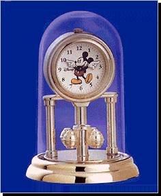 NEW Mickey Mouse Mini Anniversary Disney Clock HTF