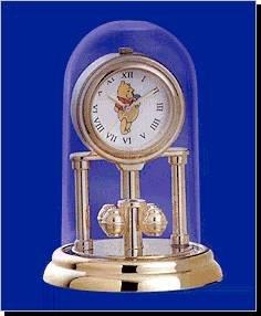 NEW Winnie The Pooh Mini Anniversary Disney Clock HTF