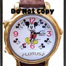 NEW Disney Lorus Mickey Mouse Musical/Melody Watch