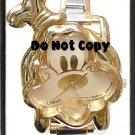 Disney Italian Charm Goofy Shape Gold Watch