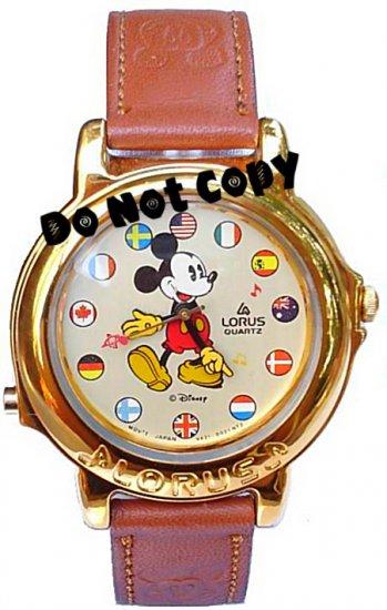 NEW Disney/Lorus Mickey Mouse Musical Unisex Watch HTF