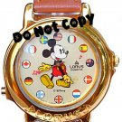 NEW Disney/Lorus Mickey Mouse Musical Unisex Watch HTF